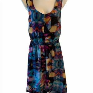 Mossimo Black Floral Summer Dress size Small